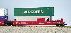 Usa Trains R17156 G Canadian Pacific Intermodal 5 Unit Articulated Set