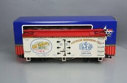 Usa Trains 16367 G Scale Old Foghorn Ale Reefer 806