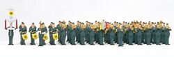 Preiser 13256 Ho Air Force Military Band German Armed Forces Pack Of 51