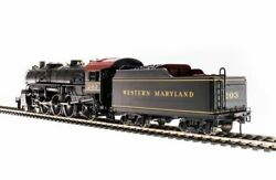 Broadway Limited 5925 Ho Western Maryland Light Pacific 4-6-2 Steam Loco 203
