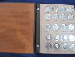 1964-2001-pds Kennedy Half Dollar Set Of 132 Coins With Proofs Clad And Silver