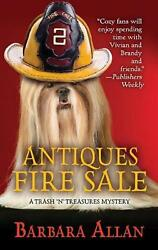 Antiques Fire Sale By Barbara Allan English Hardcover Book Free Shipping