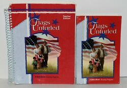 A Beka Reading Gr. 4 Set Teacher Edition And Student Flags Unfurled 3rd Edition