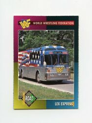 Tn12640 Lex Express 90and039s Wwf Mag Low Grade Card
