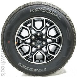 New 2021 Ford F150 18 Factory Oem Black Machined Wheels Rims Tires Free Ship