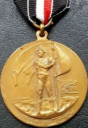 ✚10342✚ German Post Ww1 Naval Veterans League For Valour In The World War Medal