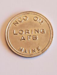 Nco Om Loring Afb Maine Air Force Base 1 In Trade Token