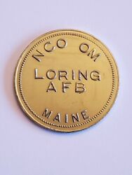 Loring Afb Nco Om Maine Air Force Base Good For 1 Token