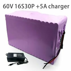 With 5a Charger 105ah 60v Battery Electric Bicycle Li-ion Tricycle Customizable