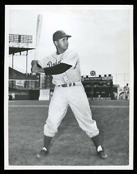 Roy Campanella 1948 Rookie Dodgers Type 1 Original Photo Psa/dna Crystal Clear