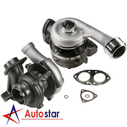 For 08-10 F350 450 550 6.4l Powerstroke Diesel Turbo Charger High And Low Pressure