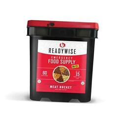 Emergency Food Supply Freeze Dried Meat Variety 15-year Shelf Life 60