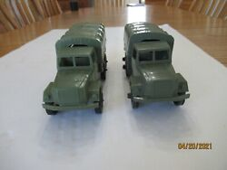 Timmee Processed Plastic 2.5-ton Army Truck And Tarp Ck - Marx, Mpc 2 2.5truck