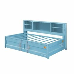 Storage Daybed And Trundle Aqua Finish