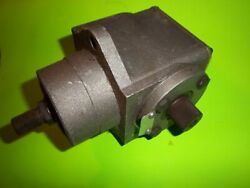 Peerless T-drive Riding Mower Gearbox Head Assy Right Angle 794111a 1000 002 H1