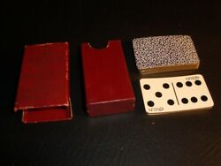 Vintage Domino Miniature Playing Cards