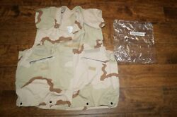 Us Military Desert 3 Color Pasgt Vest Cover Small/medium New