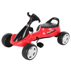 Kid's Go Kart Ride-on Car 4 Wheels Pedal Car Outdoor Boys And Girls Aged 3-8 Year
