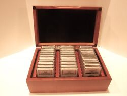 1986-2014 1 Silver American Eagle Set Ngc Ms-69 30 Coin Set In Case