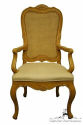 Henredon Furniture Louis Xvi French Provincial Cane Back Dining Arm Chair 950...