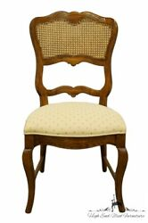 Century Furniture Country French Provincial Cane Back Dining Side Chair