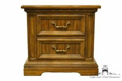 Dixie Furniture Italian Provincial 26 Two Drawer Nightstand / Commode 588-621