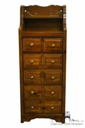 Bassett Furniture Forest Pine Rustic Country French 20 Lingerie Chest 2281-259