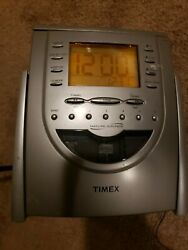 Timex Nature Sounds T611t Clock Radio Cd Player Tested And Works.