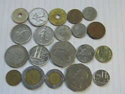 Lot Of 20 World Coins 61 Free Combined Shipping