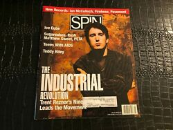 March 1992 Spin Music Magazine Trent Reznor Nine Inch Nails - Ice Cube