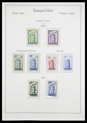 Lot 33339 Stamp Collection Europa Cept 1956-1990.