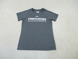 Under Armour Castleton State College Shirt Adult Small Gray Lacrosse College Men $15.10