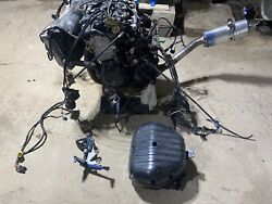 Gsxr 600 Engine Motor / Wire Harness / Throttle Body / Exhaust/ Ecu Electronics
