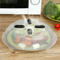 Magnetic Microwave Plate Cover With Steam Vents Cover Dishwasher Safe Bpa Free