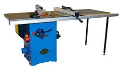 Oliver 10 Professional Table Saw W/ 52and039and039 Rail - 10040