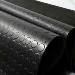 Stud/coin Rubber Roll Mats Flooring Matting For Garages Gym And Cars