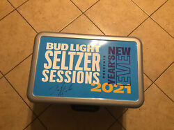 Jack Harlow Limited Edition 1 Of 1 Bud Light Seltzer Cooler And Can Autographed