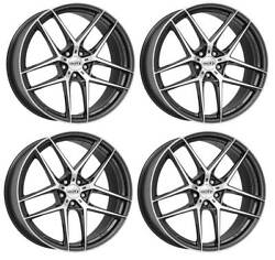 4 Dotz Lagunaseca Dark Wheels 8.0jx19 5x108 For Jaguar E-pace S-type Xe Xf Xj