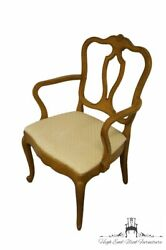 Drexel Furniture Touraine Collection French Provincial Dining Arm Chair 3152-5