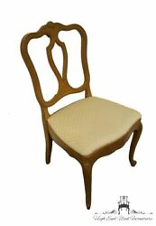 Drexel Furniture Touraine Collection French Provincial Dining Side Chair 3152-5