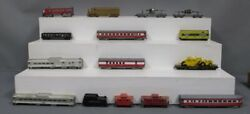 Ahm, Athearn And Other Ho Vintage Assorted Diesel, Passenger And Freight Cars [15]