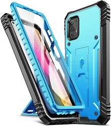 Moto G Stylus 2021 Phone Case Poetic® Military-grade Shockproof Cover Blue