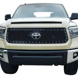 For Toyota Tundra 18-20 Status Grilles 1-pc White Mesh Main Grille
