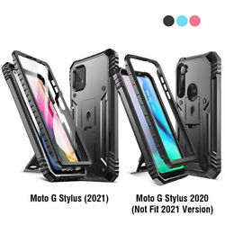Moto G Stylus 2021and2020 Phone Case Poetic® Military-grade Shockproof Cover