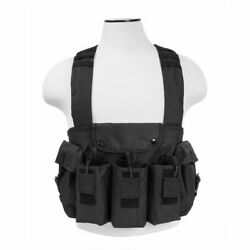 Vism Tactical Universal Nylon Chest Rig Airsoft Magazine Vest By Ncstar Outdoor