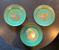 A. Chikaramachi Handpainted Plates Made In Japan 1920and039s