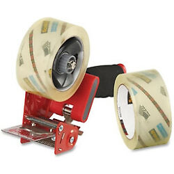 3m - Shipping Tape - Scotch H180 Box Sealing Tape Dispenser With 2 Tape Rolls