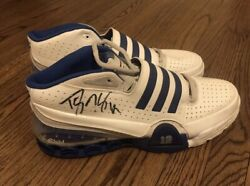 Dwight Howard Game Used Signed Adidas Ts Bounce Commander Sz 18 Shoes Psa/dna