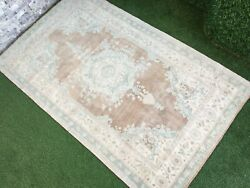 4and0396and039and039x7and0395and039and039 Antique Turkish Rug Carpetlarge Oushak Rugushak Carpetarea Rug