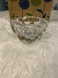 Collectible French France Baccarat Crystal Cigarette Cigar Pipe Ashtray Rare